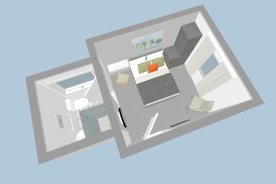 floor plan for holiday accommodation studio 8 at just b dartmouth devon